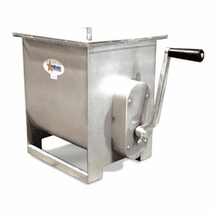 Omcan (Fma) 44 LB Stainless Steel Manual Meat Mixer, Model 13156