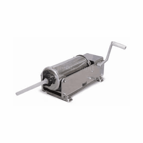 Omcan (Fma) 7Khdl Deluxe Stainless Steel 15 Lb Horizontal Sausage Stuffer, Model# 13738