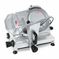 "Omcan (Fma) 9"" Manual Meat Slicer Gravity Feed 120W .16 HP ETL, Model 21629"