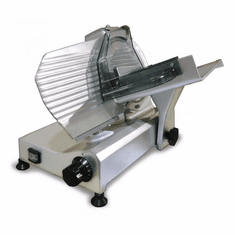 "Omcan (Fma) 9"" Manual Meat Slicer Gravity Feed Blade Belt Driven 1/4 HP, Model 13616"