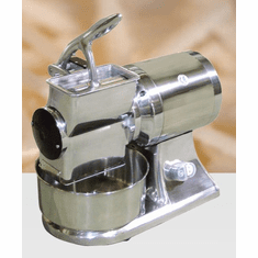 Omcan (Fma) Cheese Grater Electric Microswitch Stainless Steel Basin and Hopper1-1/2 HP, Model# 11405