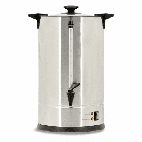 Omcan (Fma) 3.5 Gallon (13.2L) Stainless Steel Coffee Percolator - 89 Cups / Hour, Model 43140
