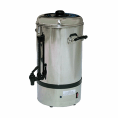 Omcan (Fma) 'Coffee Percolator10 L CapacityStainless Steel1520W/200WCe, Model# 19070