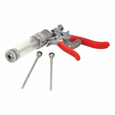 Omcan (Fma) Dial-O-Matic Meat Injector Pump Includes 2 Needles, Model 10080