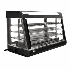 "Omcan (Fma) 36"" 3 Tier Electric Display Warmer (Both Sides Slide Open), Model 21570"