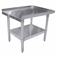 "Omcan (Fma) 'Equipment Stand30"" X 12""18 Gauge 403 Stainless Steel Top, Model# 24185"