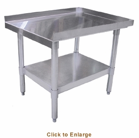 "Omcan (Fma) 'Equipment Stand30"" X 15""18 Gauge 403 Stainless Steel Top, Model# 24087"