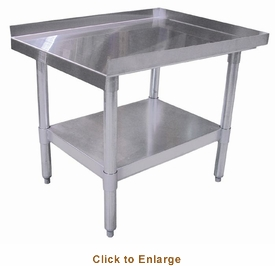 "Omcan (Fma) 'Equipment Stand30"" X 72""18 Gauge 403 Stainless Steel TopNsf Approved, Model# 22062"
