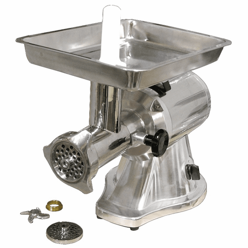 Omcan (Fma) 22 Stainless Steel Electric 1.5 HP Meat Grinder w/ Reverse, Model 21634