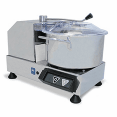 Omcan (Fma) Food ProcessorBowl Style3.5 QtCapacitySafety Switch On LidStainless Steel BowlKnives & Body.5 HpNsf, Model# 10832