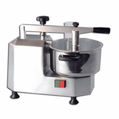 Omcan (Fma) Food ProcessorBowl Style3 QtCapacitySafety Switch On LidStainless Steel Bowl & KnivesAnodized Aluminum Body.4 Hp, Model# 10830