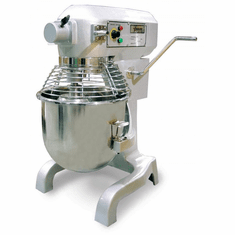 Omcan (Fma) 20 Qt General Purpose ETL Certified Baking Mixer w/ Guard & Timer 110V, Model 17835