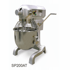 Omcan (Fma) General Purpose Mixer, 20 Quart Capacity, 3 Speed Gear Driven, 1.5 HP, CE and ETL Sanitation, Model# 17835