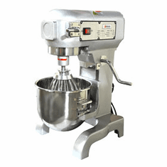 Omcan (Fma) 10 Qt General Purpose Bakery Mixer .67 HP 110V Motor ETL, Model 13181