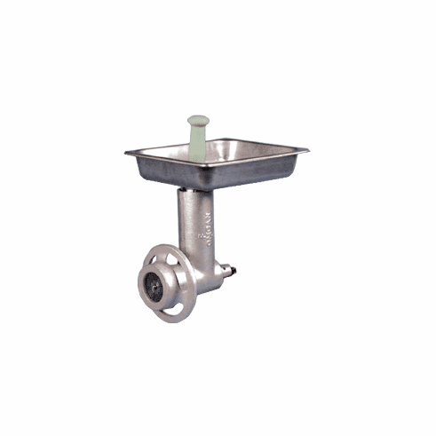 Omcan (Fma) 12 Stainless Steel Grinder Head Attachment for 12 Hubs, Model 21234
