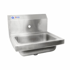 Omcan (Fma) Stainless Steel Hand Sink w/ One Faucet Hole, Model 46583