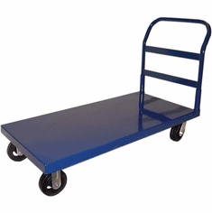 Omcan (Fma) Blue Heavy Duty Platform Cart w/ Smooth Surface, Model 13066