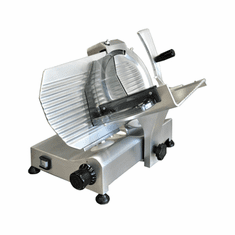 "Omcan (Fma) 'Meat SlicerManualGravity Feed10"" DiaCarbon Steel BladeBelt Driven Blade Assembly.25 Hp, Model# 13623"