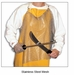 "Omcan (Fma) 'Mesh Apron20""W X 20""LStainless Steel, Model# 13533"