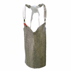 "Omcan (Fma) 20"" x 20"" Stainless Steel Mesh Apron, Model 13533"