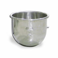 Omcan (Fma) 20 Qt Stainless Steel Light Gauge Mixer Bowl for Hobart Mixers, Model 23509