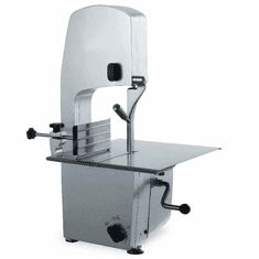 """Omcan (Fma) Omas Band SawTable Top78"""" Blade11""""H X 9-1/4""""W Cutting CapacityAnodized Aluminum Chassis W/Sliding Stainless Steel Table1-1/2 Hp, Model# 10275"""