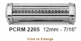 """Omcan (Fma) 'Pasta Cutter12Mm (7/16"""")Rm220 Or R220 Sheeters, Model# 13226"""