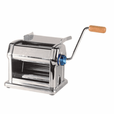 "Omcan (Fma) 'Pasta SheeterManual9"" Roller Length3/8"" MaxRoller OpeningStainless Steel Body, Model# 13231"