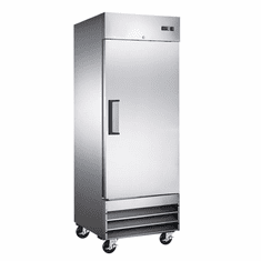 "Omcan (Fma) 29"" Single Door Reach In Freezer w/ 23 Cu Ft Capacity, Model 50023"