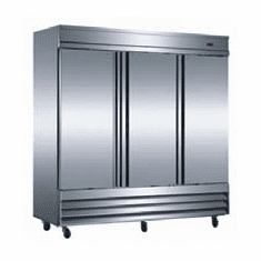 Omcan (Fma) 'RefrigeratorReach InThree-Section72 CuFt.1/2 Hp9.9 Amps, Model# 50028