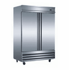Omcan (Fma) 'RefrigeratorReach InTwo-Section46.5 CuFt.1/2 Hp8.4 Amps, Model# 50026