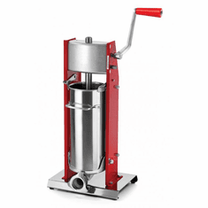 Omcan (Fma) 11 LB Elite Series Vertical Manual 2 Speed Sausage Stuffer - Gear Driven, Model 13733