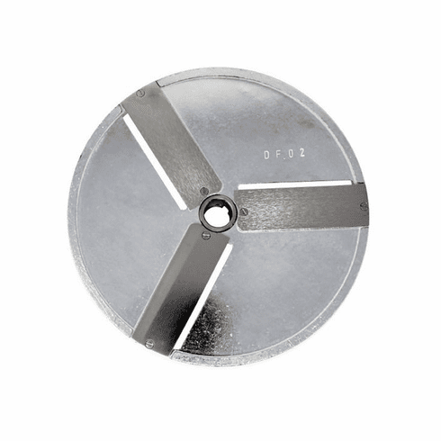 Omcan (Fma) 2 MM Straight Slicing Disc for 10835, 10927 & 19476 Food Processors, Model 10073