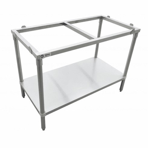 """Omcan (Fma) 30"""" x 60"""" Solid Poly Top Table Frame (Boards Separate), Model 41274"""