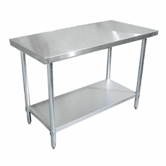 "Omcan (Fma) 24"" x 24"" Stainless Steel Work Table NSF Approved, Model 22063"