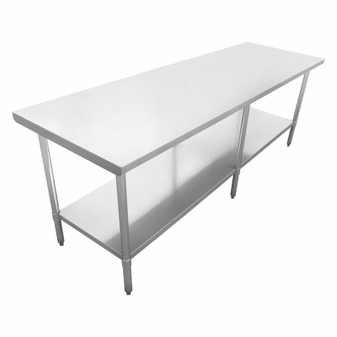 "Omcan (Fma) 24"" x 96"" Stainless Steel Work Table NSF Approved, Model 22070"