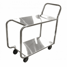 Omcan (Fma) Solid Top Welded Stainless Steel Stocking Cart, Model 23731