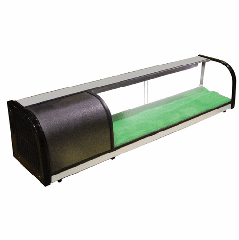 Omcan (Fma) Refrigerated Sushi Display Case - 3.2 Cu Ft Capacity, Model 20436