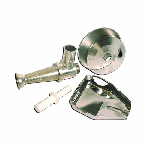 Omcan (Fma) Tomato Attachment for 12 22 32 Elite Series Meat Grinders, Model 10160