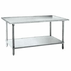 "Omcan (Fma) 'Work Table30"" X 84""35-3/4"" Height20 Gauge 430 Stainless SteelNsf, Model# 26045"
