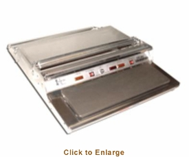 "Omcan (Fma) Wrapping Machine Single Roll 5"" X 15"" Hot Plate with Non-stick Teflon Cover, Model# 14426"