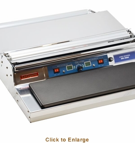 "Omcan (Fma) Wrapping Machine Single Roll 4 7/8"" X 15 1/8"" Hot Plate with Non-stick Teflon Cover, Model# 43486"