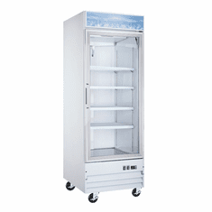 "Omcan (Fma) 31"" Single Glass Door Reach In Freezer, Model 50030"