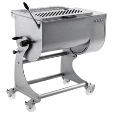Omcan Heavy-Duty Stainless Steel Meat Mixer With 120 Kg. Capacity, Model# 37451