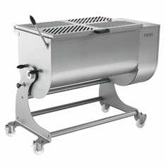 Omcan Heavy-Duty Stainless Steel Meat Mixer With 180 Kg. Capacity, Model# 46149