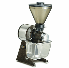 Omcan Santos Poppy Seed Grinder With Stainless Steel And Aluminum Body Finish, Model# 44116