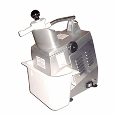 Omcan Vegetable Cutter/Food ProcessorAngled Continuous Feed StyleHinged Cover(Discs Sold Separately).7 Hp300 RpmEtl, Model# 10927