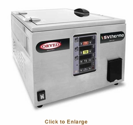 Orved Sous-Vide Cooking Bath, Model# SV-THERMO TOP