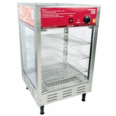 "Paragon Hot Food Humidified Display Cabinet - 16"" Model 2101120"