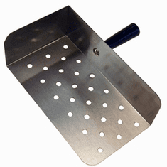Paragon Small Stainless Steel Nacho Scoop, Model# 1039
